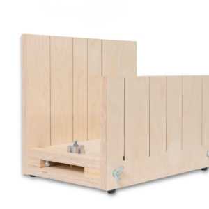 Mitre block for large cornices